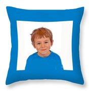 Little Pal Throw Pillow