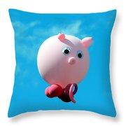 Little Piggy Throw Pillow