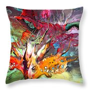 Little Red Dragonmaker Throw Pillow