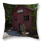 Little Red Schoolhouse Four Throw Pillow