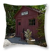 Little Red Schoolhouse Three Throw Pillow