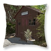 Little Red Schoolhouse Two Throw Pillow