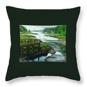 Little River Gloucester Study Throw Pillow