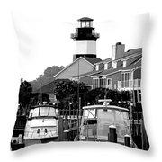 Little River South Carolina Throw Pillow