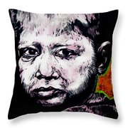 Little Rosita Throw Pillow