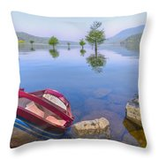 Little Rowboat Throw Pillow