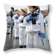 Little Sailors Throw Pillow