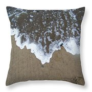 'little Sails' In The Surf Throw Pillow