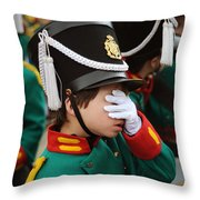 Little Soldier I Throw Pillow