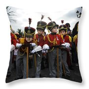 Little Soldiers IIi Throw Pillow