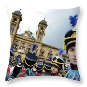 Little Soldiers Iv Throw Pillow