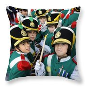 Little Soldiers Vi Throw Pillow