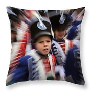 Little Soldiers Vii Throw Pillow