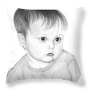 Little Sweetie Throw Pillow