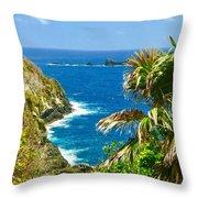 Little Tobago  Throw Pillow