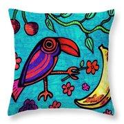 Little Toucan Throw Pillow