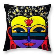Little Tribal In All Of Us Throw Pillow