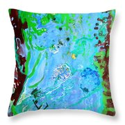 Little World Throw Pillow