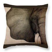 LIV Throw Pillow