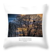 Live And Dream Throw Pillow