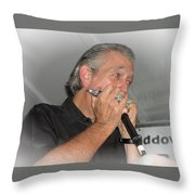 Live At Stearns Square Throw Pillow