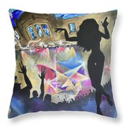 Live At The Jelly Throw Pillow