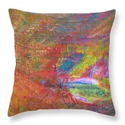 Live Fish In The Ocean Throw Pillow