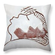 Live For Today - Tile Throw Pillow