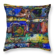 Live Life In Color Throw Pillow