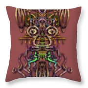 Live Mouse Throw Pillow