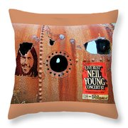 Live Rust, Neil Young Throw Pillow