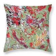 Lively Creatures Throw Pillow