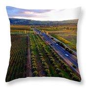 Livermore Wine Country--las Positas Winery Throw Pillow