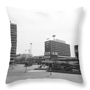 Liverpool Scenic With St. Johns Beacon Throw Pillow