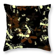 Lives Of Ants Throw Pillow