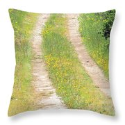 Living In The Country Throw Pillow