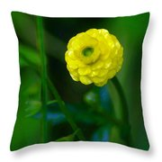 Living In The Moment Throw Pillow