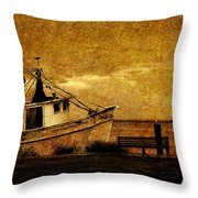 Living In The Past Throw Pillow by Susanne Van Hulst