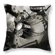 Living Legend 844 Throw Pillow