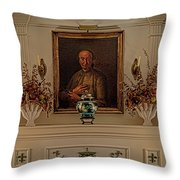 Living Room Mantle Display - 1 Throw Pillow