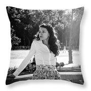 Living Seville - Spain 3 Throw Pillow