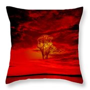 Living Sky Throw Pillow