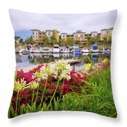 Living The Good Life Throw Pillow