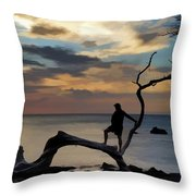 Living The Life Throw Pillow