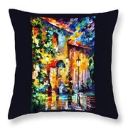 Living Town Throw Pillow