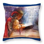 Living Word Throw Pillow