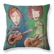 Liz Clark Throw Pillow