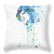 Liza Minnelli Throw Pillow by Naxart Studio