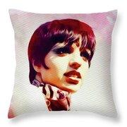 Liza Minnelli, Vintage Movie Star Throw Pillow