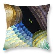 Lizard Skin Abstract II Throw Pillow